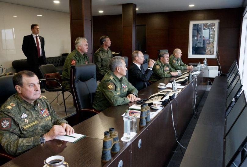 Putin and crew