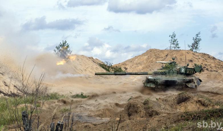 T-80BV of 4th Division MRR