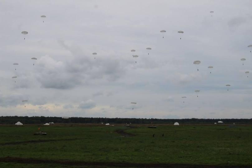 VDV landing