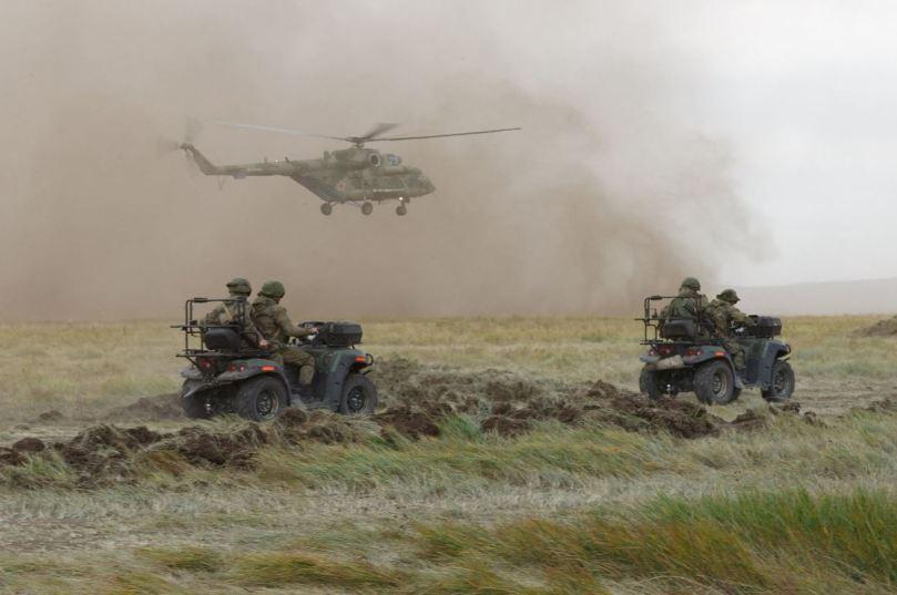 airborne ATVs