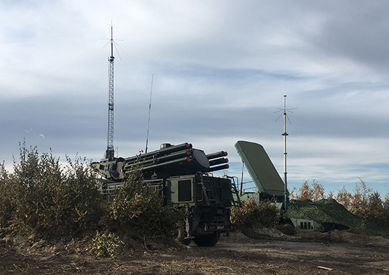 Pantsir and targeting radar