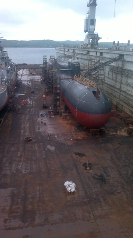 PD-50 dry dock
