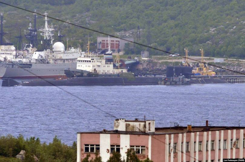 BS-64 in Severomorsk